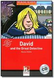 David and the great detective with cd - starter - Disal editora