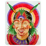 Decoração de Carnaval Painel Índio Artes Decorativas - Festabox