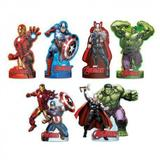 Decoração de Mesa dos Avengers kit com 6 unid - Regina