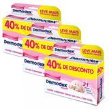 Dermodex Prevent Pomada 60g Com 40% Desconto Super Kit 3 Caixas - Reckitt benckiser