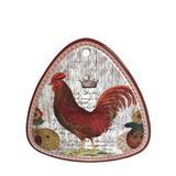 Descanso de Panela Galo Cerâmica 20CM - 30159 - Lhermitage