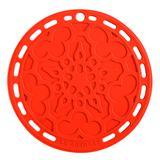 Descanso de Panela Le Creuset Mandala Silicone Vermelho 20CM - 17208