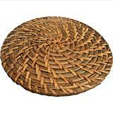 Descanso para Panela Redondo Rattan 20 cm Diametro Bon Gourmet