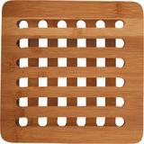 Descanso para Panelas de Bambu Quadrado Anji