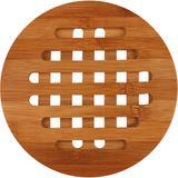 Descanso para Panelas de Bambu Redondo Anji