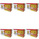 Descarpack Luvas P/ Procedimentos Vinil C/ Talco G C/100 (Kit C/06)