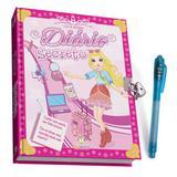 Diário secreto: Livro de Atividades - Rosa - Blu