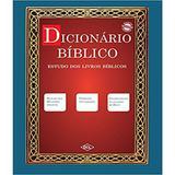 Dicionario Biblico - Estudo Dos Livros Biblicos - Editora dcl