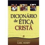 Dicionário de Ética Cristã - Carl Henry - Cultura cristã