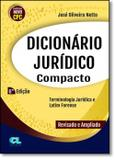 Dicionário Jurídico Compacto - 6ª Edição 2017 - Netto - Edijur
