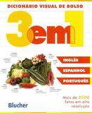 Dicionário Visual de Bolso - Espanhol/Inglês/Português - Edgard blücher