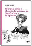 Diferenca entre a filosofia da natureza de democri - Boitempo editorial