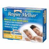 Dilatador Nasal Respire Melhor Pele Normal 10 Tiras - Tamanho Grande - Glaxosmithkline brasil pr