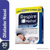 Dilatador Nasal Respire Melhor Pele Normal 30 unidades Leve 30 Tiras Pague 20 - Glaxosmithkline brasil pr