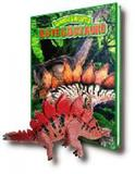 Dinossauros - estegossauro ( inclui dinossauro articulado ) - Cedic bom bom books