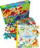 Dinossauros: livro com quebra-cabeça - Usborne