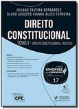 Direito constitucional - vol.17 - tomo 2 - colecao - Editora juspodivm