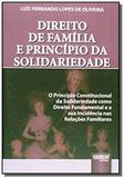 Direito de familia e principio da solidariedade o - Jurua