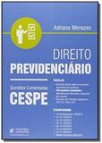 Direito previdenciario questoes comentadas cespe - Editora juspodivm