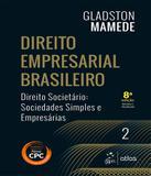 Direito Societario - Sociedades Simples E Empresarias - Vol 02 - 08 Ed - Atlas - juridico didatico