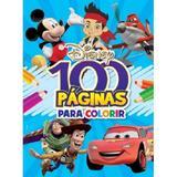 Disney - 100 Paginas Para Colorir - Meninos - Bicho Esperto - Bicho esperto distribuidora de livros ltda