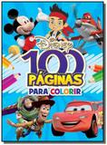 Disney - colecao 100 paginas para colorir - menino - Rideel - bicho esperto