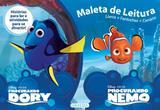 Disney maleta de leitura - procurando dory e procurando nemo - Girassol