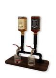Dispenser Dosador Serve Bebidas Drinks Whisky Bar Adega Estilo Industrial Preto Laca - Formalivre