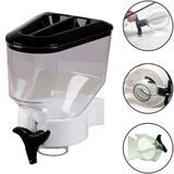 Dispenser Porta Alimentos Cereais Cozinha Parede 1,4 Litros - Cobrirel
