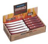Display facas para churrrasco 60 peças - Polywood - Cor Cereja Vermelha - Tramontina