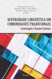 Diversidade linguistica em comunidades tradicionais - Pontes editores