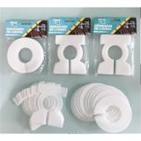 Divisor de Cabides Quadrado  (Kit c/ 10 unid.) - Cód. 9472 - Ideal pack comercio de plasticos ltda