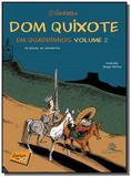 Dom quixote em quadrinhos - vol.2 - Fundacao peiropolis