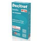 Doxitrat 80 mg Antibacteriano para cães e gatos Agener 24 comprimidos - Agener união