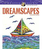 Dreamscapes - Creative Haven Coloring Books - Dover publications