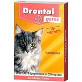 Drontal Gatos com 4 comprimidos - Gatos - Bayer