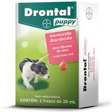 Drontal Puppy 20ml Cães Filhotes - Bayer