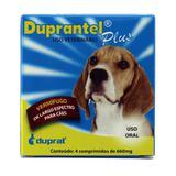 Duprantel Plus Vermífugo Cães 10kg  4 comprimidos - Duprat