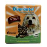 Duprantel Vermífugo Cães 10 kg c/ 4 comp - Duprat