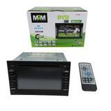 DVD 2 Din Universal com Bluetooth e Espelhamento - M2m car