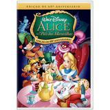 DVD - Alice no País das Maravilhas - Edição de 60 Anos. - Disney