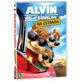 DVD - Alvin e Os Esquilos: Na Estrada - Fox filmes