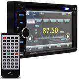 Dvd Automotivo 2 Din 6,2 Usb Bluetooth Espelhamento Android P3321 - Multilaser