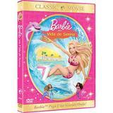 DVD - Barbie - Vida de Sereia - Paramount filmes