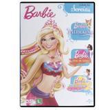 DVD Box- Barbie - Coleção Sereias - Universal studios