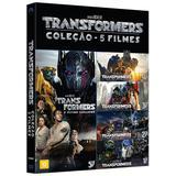 DVD Box - Transformers - Coleção - Paramount filmes