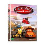 DVD - Carrinhos Divertidos  Alucinados Vol. 4 (Ep. 21 A 26) - Flashstar filmes