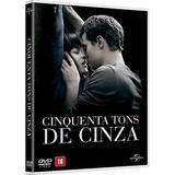 DVD - Cinquenta Tons De Cinza - Paramount filmes