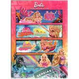 DVD - Coleção Barbie Sereias (4 DVDs) - Universal studios