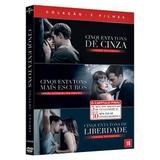 DVD - Coleção Cinquenta Tons 3 Filmes - Universal studios